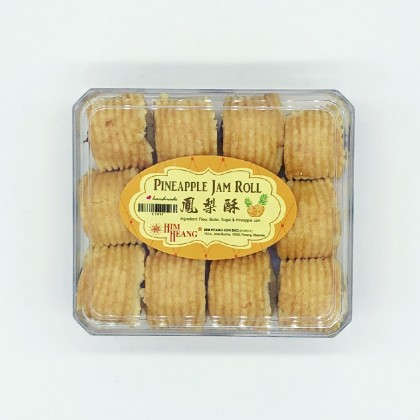 凤梨酥 PINEAPPLE JAM ROLL 24PCS