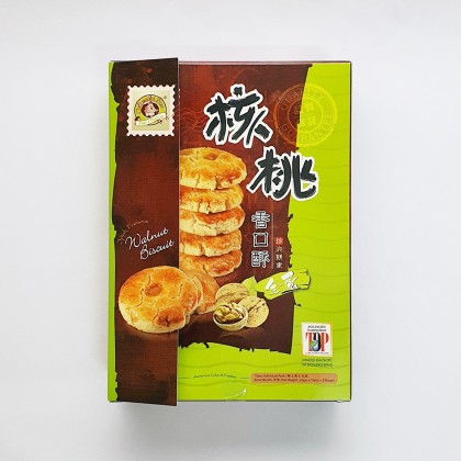 核桃香口酥 WALNUT BISCUIT 23G X 10PCS