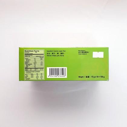 椰子饼 COCONUT COOKIES 15G X 10PCS
