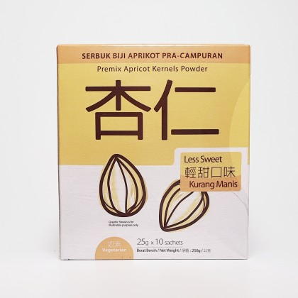 杏仁粉 轻甜口味 ALMOND POWDER (LESS SUGAR) 25G X 10SACHETS