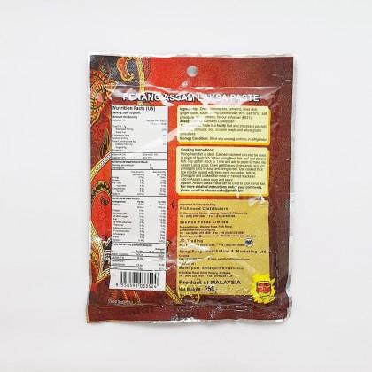 亚参叻沙酱 PENANG ASSAM LAKSA PASTE 250G