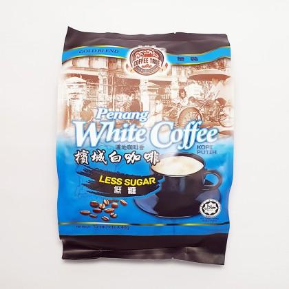 槟城白咖啡少糖 PENANG WHITE COFFEE LESS SUGAR 40G X 15SACHETS