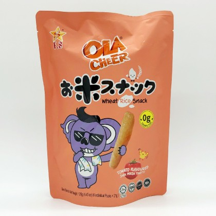 OLA CHEER CRUNCHY RICE STICK-TOMATO